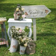 shabby chic idea matrimonio