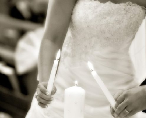 Matrimonio - rito delle candele